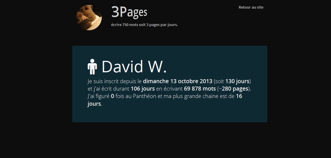 3pages profil